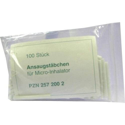 MICRO ANSAUGSTÄBCHEN TX 0770, 100 ST, ALLPHARM Vertriebs GmbH