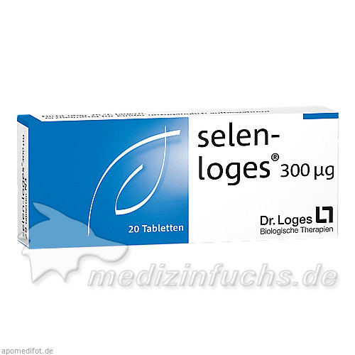 selen-Loges 300ug, 20 ST, Dr. Loges + Co. GmbH