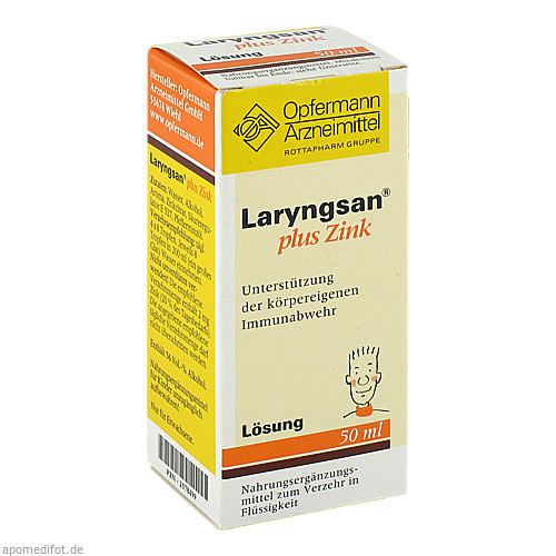 Laryngsan plus Zink, 50 ML, Meda Pharma GmbH & Co. KG