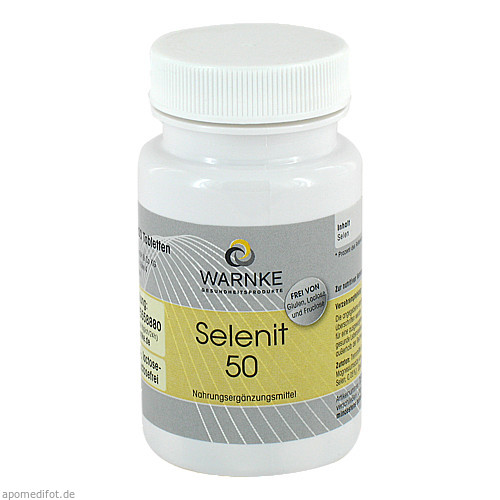 Selenit 50, 100 ST, Warnke Vitalstoffe GmbH