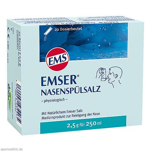 EMSER NASENSPÜLSALZ physiologisch Beutel, 20 ST, Siemens & Co