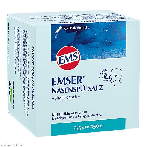 EMSER NASENSPÜLSALZ physiologisch Beutel, 50 ST, Siemens & Co