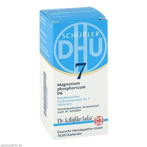 BIOCHEMIE DHU 7 MAGNESIUM PHOSPHORICUM D 6, 200 ST, Dhu-Arzneimittel GmbH & Co. KG