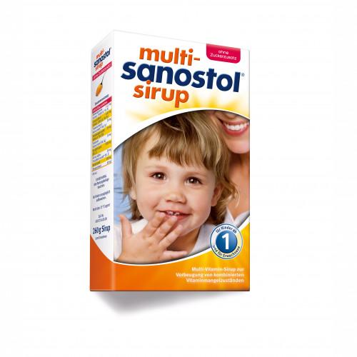 MULTI-SANOSTOL OHNE ZUCKERZUSATZ, 260 G, DR. KADE Pharmazeutische Fabrik GmbH