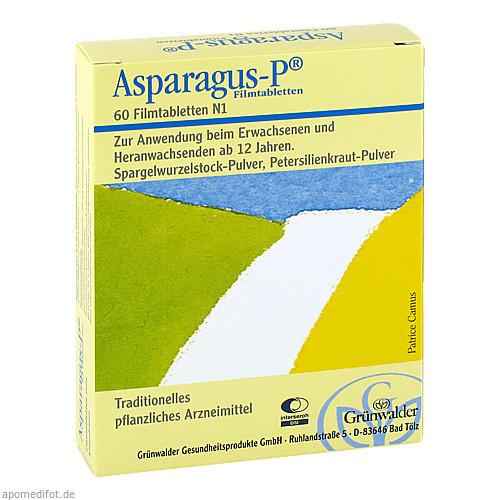 Asparagus-P, 60 ST, Grünwalder Gesundheitsprodukte GmbH