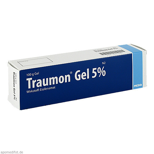 Traumon Gel 5%, 100 G, Meda Pharma GmbH & Co. KG