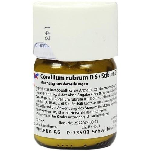 CORALLIUM RUBR D 6 STI D 6 AA, 50 G, Weleda AG