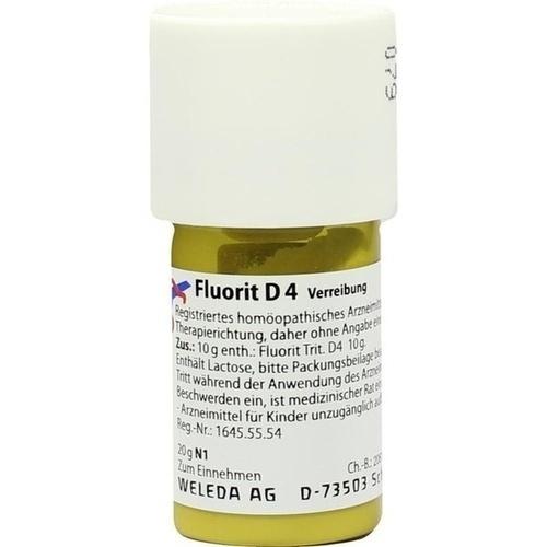 FLUORIT D 4 Trituration, 20 G, WELEDA AG