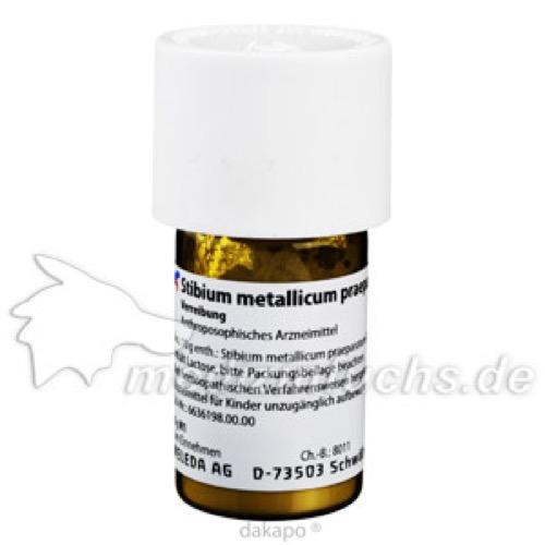 STIBIUM MET PRAEP D20, 20 G, Weleda AG