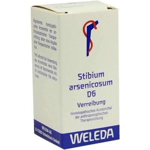 STIBIUM ARSENICOSUM D 6, 20 G, Weleda AG