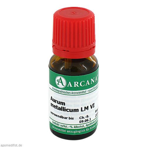 AURUM MET. ARCA LM 6, 10 ML, Arcana Arzneimittel-Herstellung Dr. Sewerin GmbH & Co. KG