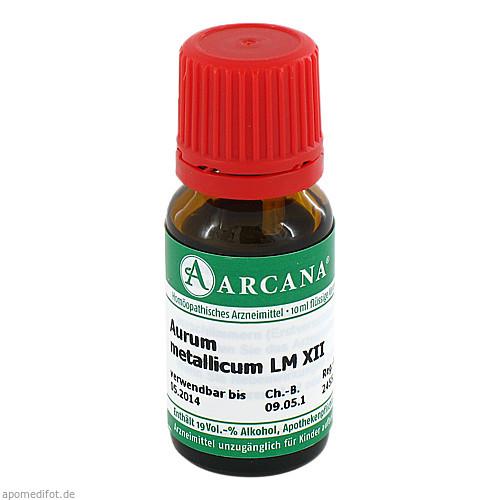 AURUM MET. ARCA LM 12, 10 ML, Arcana Arzneimittel-Herstellung Dr. Sewerin GmbH & Co. KG