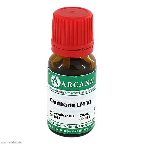 CANTHARIS ARCA LM 6, 10 ML, Arcana Arzneimittel-Herstellung Dr. Sewerin GmbH & Co. KG