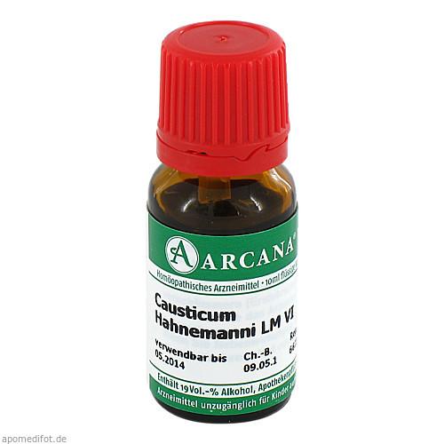CAUSTICUM ARCA LM 6, 10 ML, Arcana Arzneimittel-Herstellung Dr. Sewerin GmbH & Co. KG