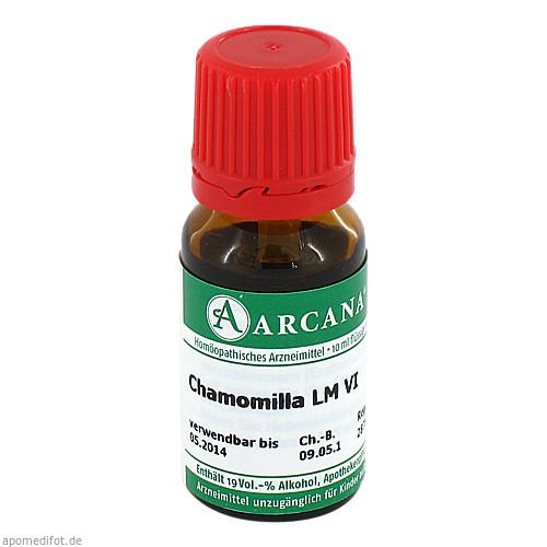 CHAMOMILLA ARCA LM 6, 10 ML, Arcana Arzneimittel-Herstellung Dr. Sewerin GmbH & Co. KG