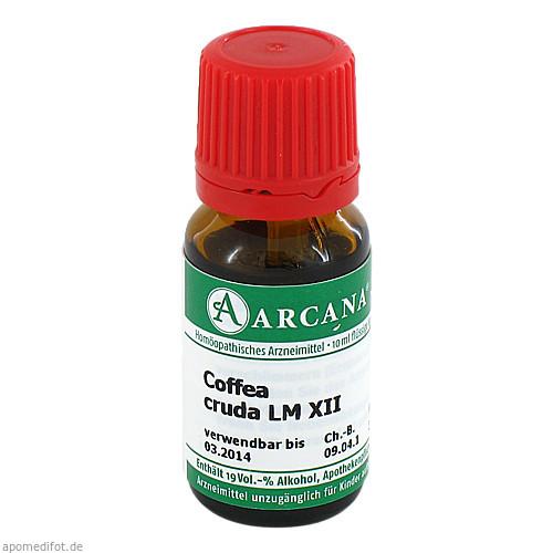 COFFEA CRUDA ARCA LM 12, 10 ML, Arcana Arzneimittel-Herstellung Dr. Sewerin GmbH & Co. KG