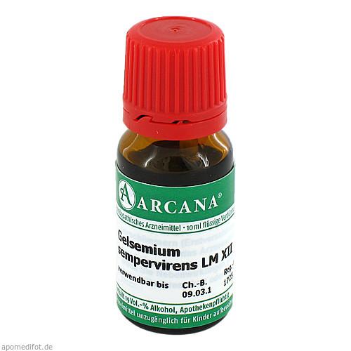 GELSEMIUM SEMPER ARC LM 12, 10 ML, Arcana Arzneimittel-Herstellung Dr. Sewerin GmbH & Co. KG