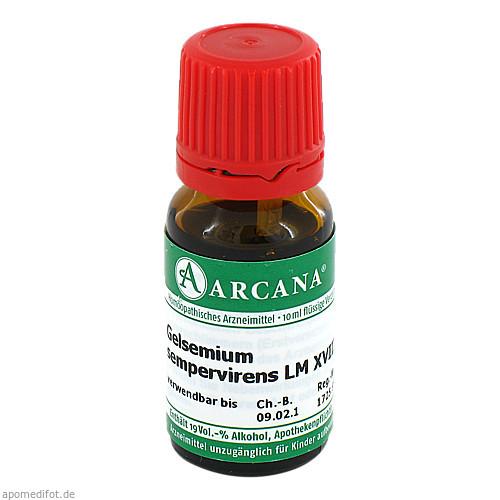GELSEMIUM SEMPER ARC LM 18, 10 ML, Arcana Arzneimittel-Herstellung Dr. Sewerin GmbH & Co. KG