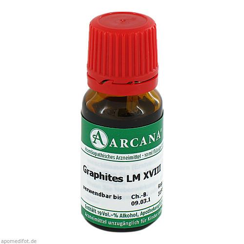 GRAPHITES ARCA LM 18, 10 ML, Arcana Arzneimittel-Herstellung Dr. Sewerin GmbH & Co. KG