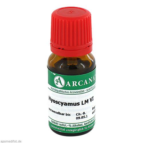 HYOSCYAMUS ARCA LM 6, 10 ML, Arcana Arzneimittel-Herstellung Dr. Sewerin GmbH & Co. KG
