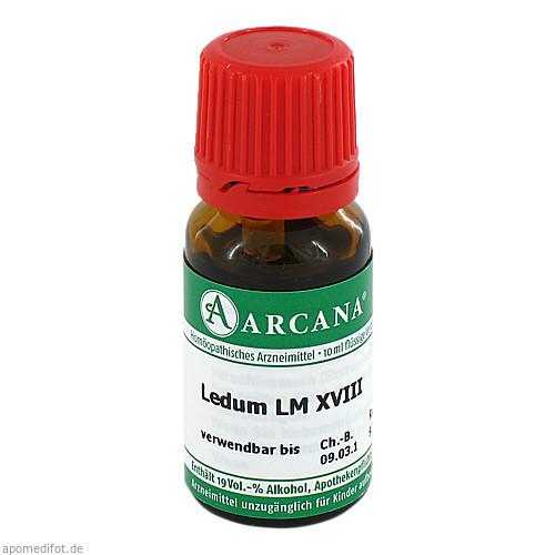 LEDUM ARCA LM 18, 10 ML, Arcana Arzneimittel-Herstellung Dr. Sewerin GmbH & Co. KG