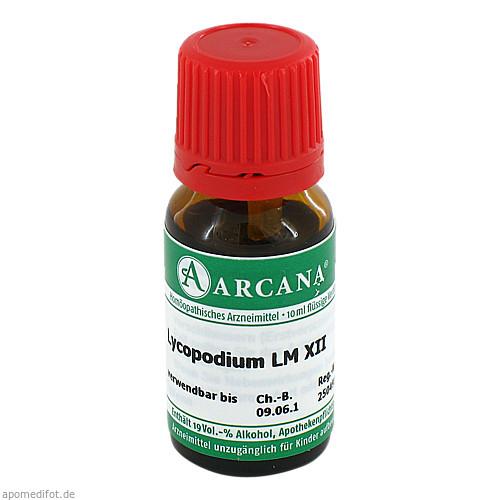 LYCOPODIUM ARCA LM 12, 10 ML, Arcana Arzneimittel-Herstellung Dr. Sewerin GmbH & Co. KG