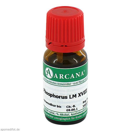 PHOSPHORUS ARCA LM 18, 10 ML, Arcana Arzneimittel-Herstellung Dr. Sewerin GmbH & Co. KG