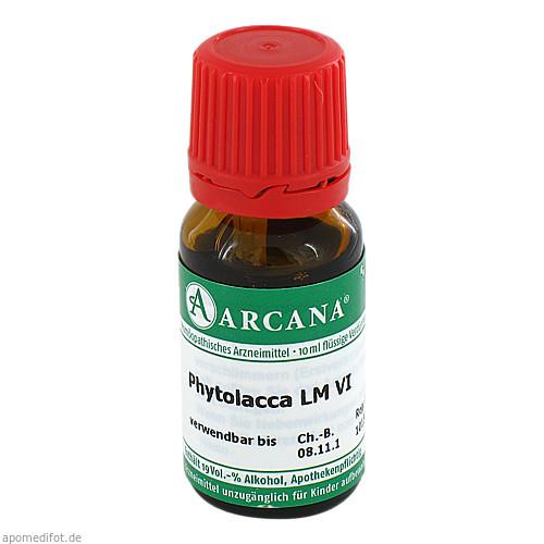 PHYTOLACCA ARCA LM 6, 10 ML, Arcana Arzneimittel-Herstellung Dr. Sewerin GmbH & Co. KG