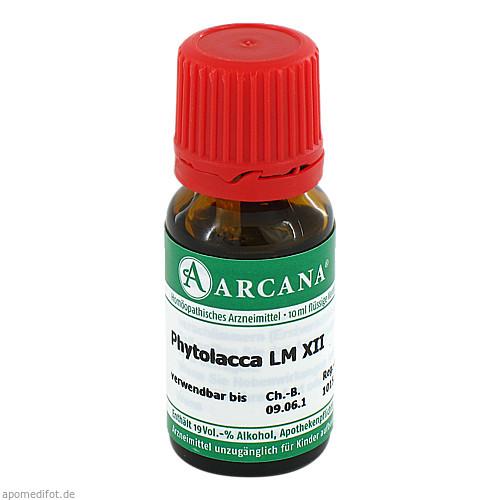 PHYTOLACCA ARCA LM 12, 10 ML, Arcana Arzneimittel-Herstellung Dr. Sewerin GmbH & Co. KG