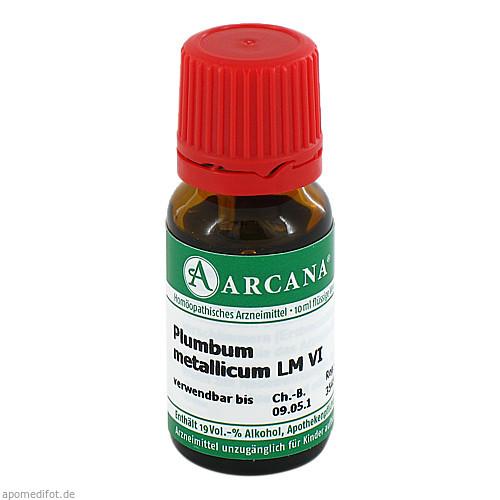 PLUMBUM MET. ARCA LM 6, 10 ML, Arcana Arzneimittel-Herstellung Dr. Sewerin GmbH & Co. KG
