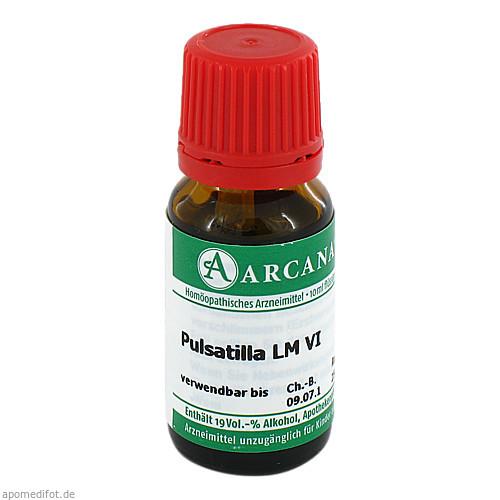 PULSATILLA ARCA LM 6, 10 ML, Arcana Arzneimittel-Herstellung Dr. Sewerin GmbH & Co. KG