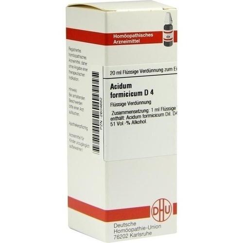 ACIDUM FORMIC D 4, 20 ML, Dhu-Arzneimittel GmbH & Co. KG