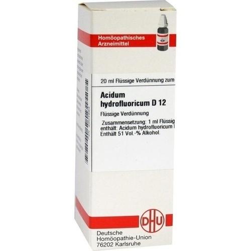 ACIDUM HYDROFLUOR D12, 20 ML, Dhu-Arzneimittel GmbH & Co. KG