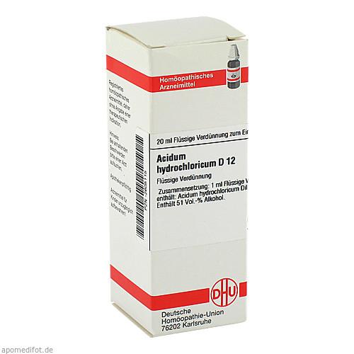 ACIDUM HYDROCHL D12, 20 ML, Dhu-Arzneimittel GmbH & Co. KG