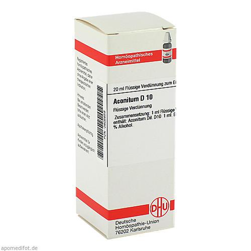 ACONITUM D10, 20 ML, Dhu-Arzneimittel GmbH & Co. KG