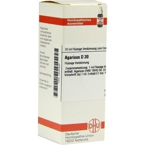 AGARICUS D30, 20 ML, Dhu-Arzneimittel GmbH & Co. KG