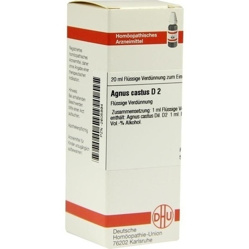 AGNUS CASTUS D 2, 20 ML, Dhu-Arzneimittel GmbH & Co. KG