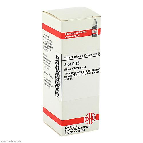 ALOE D12, 20 ML, Dhu-Arzneimittel GmbH & Co. KG