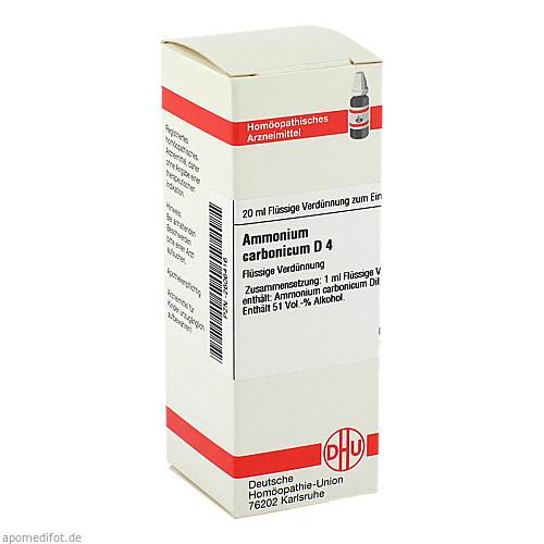 AMMONIUM CARB D 4, 20 ML, Dhu-Arzneimittel GmbH & Co. KG