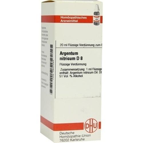 ARGENTUM NITR D 8, 20 ML, Dhu-Arzneimittel GmbH & Co. KG