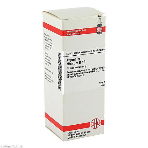 ARGENTUM NITR D12, 50 ML, Dhu-Arzneimittel GmbH & Co. KG