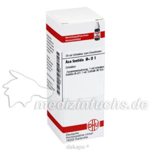 ASA FOETIDA URT D 1, 20 ML, Dhu-Arzneimittel GmbH & Co. KG
