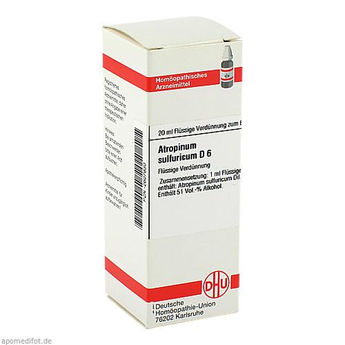 ATROPINUM SULF D 6, 20 ML, Dhu-Arzneimittel GmbH & Co. KG