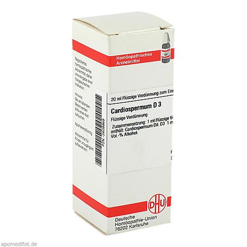 CARDIOSPERMUM D 3, 20 ML, Dhu-Arzneimittel GmbH & Co. KG