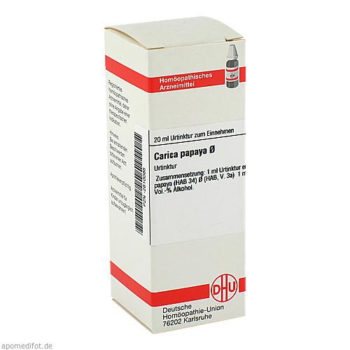 CARICA PAPAYA URT, 20 ML, Dhu-Arzneimittel GmbH & Co. KG