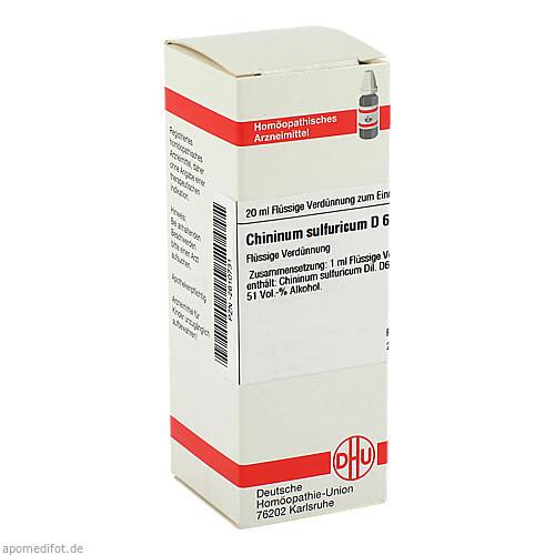CHININUM SULF D 6, 20 ML, Dhu-Arzneimittel GmbH & Co. KG