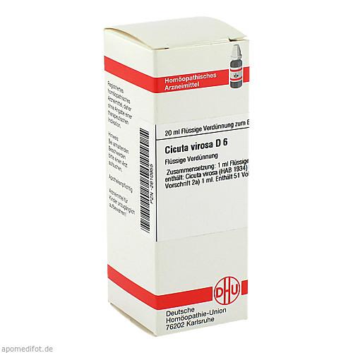 CICUTA VIROSA D 6, 20 ML, Dhu-Arzneimittel GmbH & Co. KG