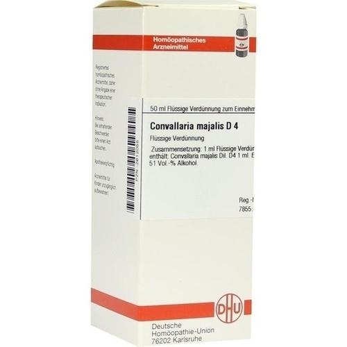 CONVALLARIA MAJAL D 4, 50 ML, Dhu-Arzneimittel GmbH & Co. KG