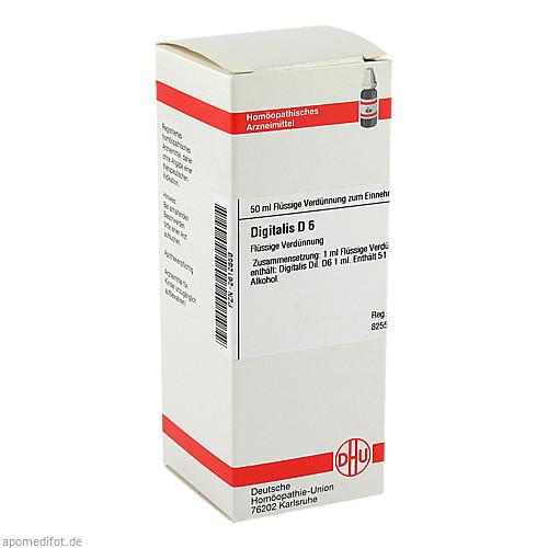 DIGITALIS D 6, 50 ML, Dhu-Arzneimittel GmbH & Co. KG
