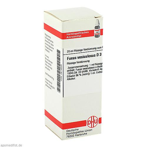 FUCUS VESICUL D 3, 20 ML, Dhu-Arzneimittel GmbH & Co. KG